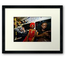 London is Royal Party Capital  Framed Print