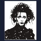 Edward Scissorhands - Tee and iPhone case by Lauren Eldridge-Murray