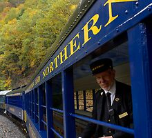 Scenic Train Ride through Lehigh River Gorge by Mark Van Scyoc