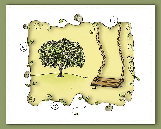 Tree Swing by Janet Antepara