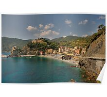 Monterosso Beach, Cinque Terre Poster