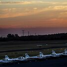 Jandakot Airport at Dusk by Eve Parry