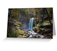 Hopetown Falls in the Otway National Park II Greeting Card