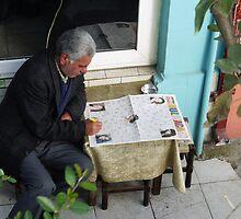 People in Istanbul - BULMACA - Newspaper (2) by Marjolein Katsma