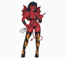 Devil girl - Too Hot to Handle! by GerbArt