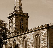 Prescot Parish Church of St Mary by Stephen Whitehead