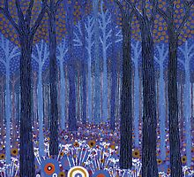 Blue Forest 1 by wavynewt