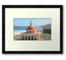 Old San Juan, Puerto Rico Dome Framed Print