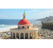 Old San Juan, Puerto Rico Dome Photographic Print