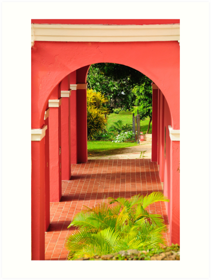 Old San Juan Archway by Lee Walters Photography