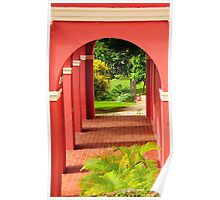 Old San Juan Archway Poster
