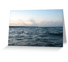 Horizon Crown of Clouds Greeting Card