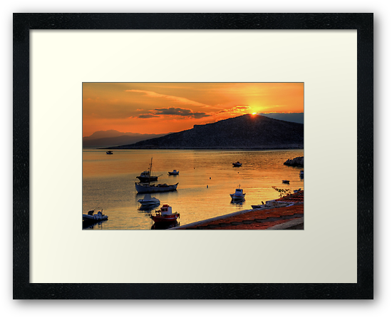 Sunrise over Nissaki by Tom Gomez