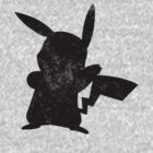 Pokemon Pikachu Silhouette  by HighDesign