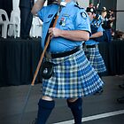WA Police Pipe Band by Darren Speedie