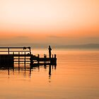 Lone Fisherman by Mark Whittle