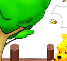 Winnie's Free Time Sticker