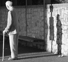 the elusive shadow by kenkrash