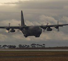C-130 on Approach by Bairdzpics