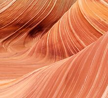 The Waves at the Coyote Buttes by Alex Cassels