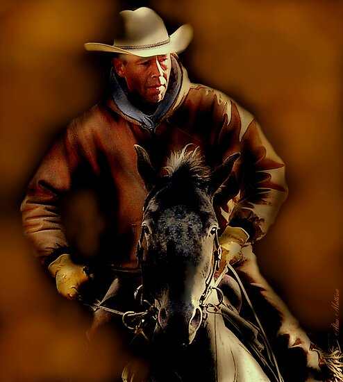 Ride 'em cowboy by Alan Mattison IPA