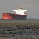 Oil Tanker Heading for Immingham by Billlee