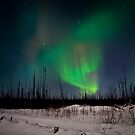 Jan.2nd Northern Lights by peaceofthenorth