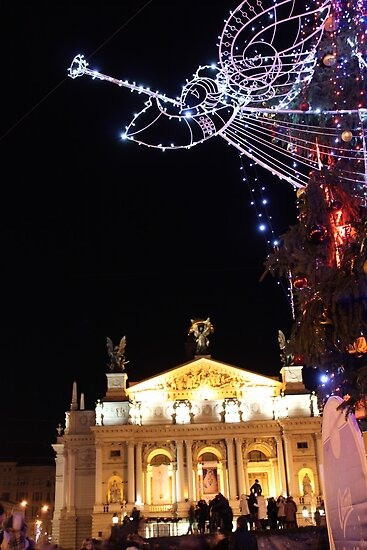 Season's Greetings from Lvov by Elena Skvortsova