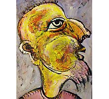 Caricature of a Wise Man Photographic Print
