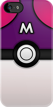 Masterball iPhone Case ! by Venum Spotah