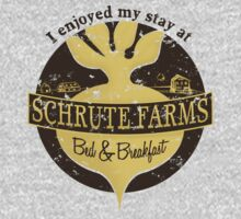I enjoyed my stay at Schrute Farms (Brown) Kids Clothes