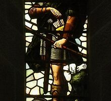 Stained Glass From Wallace Monument, Stirling, Scotland (1) by MagsWilliamson