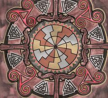Tree of Life Mandala by Adair Sullivan (Ó Súilleabháin)