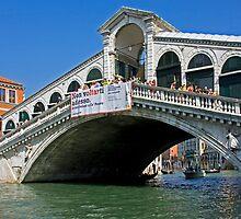 Ponte di Rialto by Tom Gomez