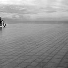 rainy day for cycling by katta