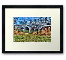 """ 1844 Camillus Aqueduct - Camillus, New York "" Framed Print"