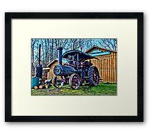 """ Steam Engine - Camillus, New York "" Framed Print"