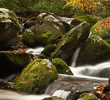 Smokies Waterfall by andrewsound95
