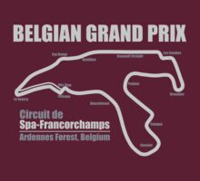 Belgian Grand Prix - Spa-Francorchamps (DarkShirts) by oawan