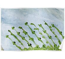 Impression Shore Seaweeds Poster
