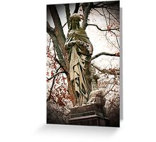 Old Gray Cemetery-1864 Greeting Card