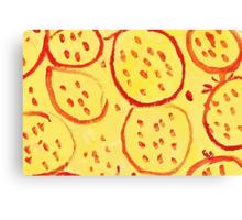 Impression Pomegranate Canvas Print