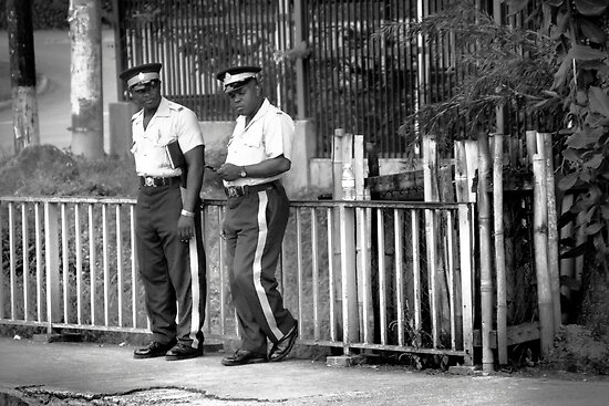 Policing the Stripes in Ocho Rios by SeeOneSoul