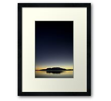 First Light II Framed Print