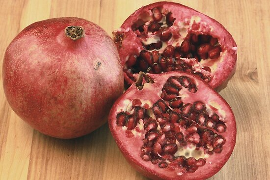 Pomegranates by Robert Armendariz