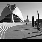 urban scene from Valencia by katta