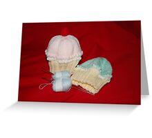 Cupcake Hats Greeting Card