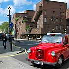 Red cab in London - England by katta