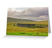 Ribblehead Viaduct Greeting Card
