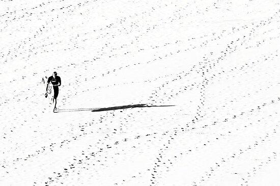Sand Tracks by Trish Woodford